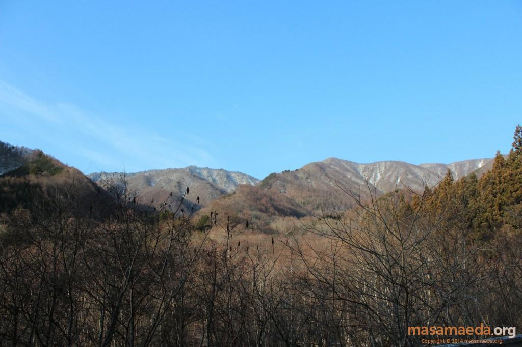 優美な南大菩薩連嶺