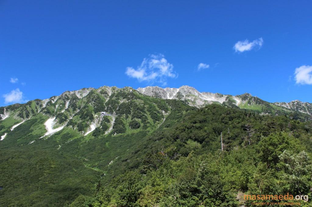 黒部平駅から立山