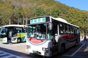 水上駅から谷川岳ロープウェイまでは関越交通のバスで