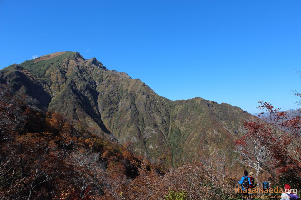 谷川岳と西黒尾根