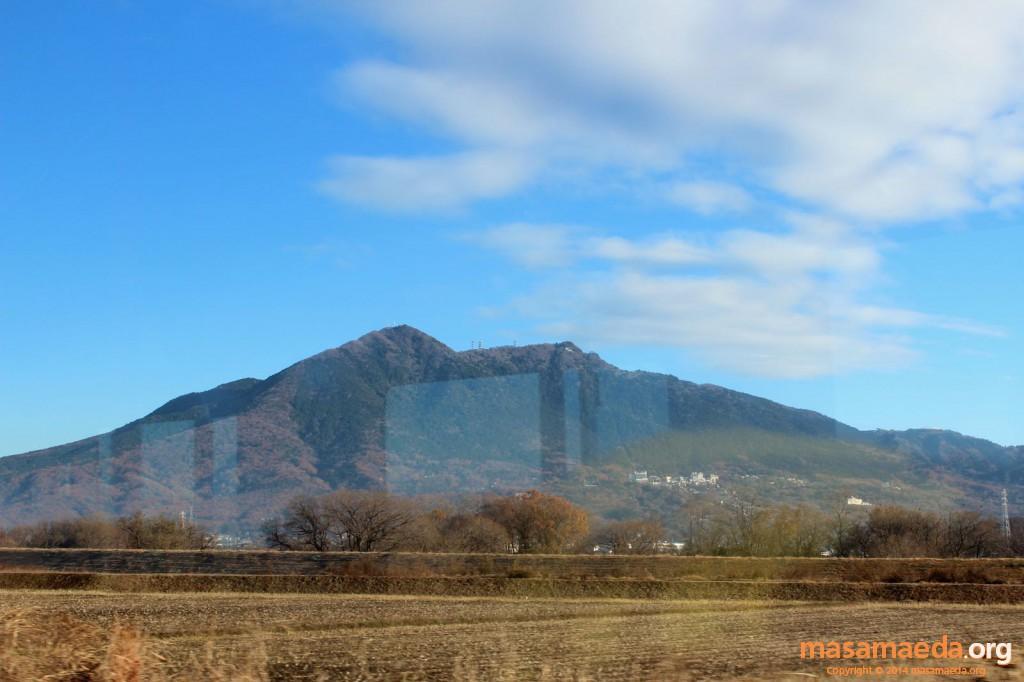 美しい双耳峰、筑波山