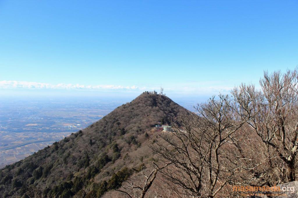 男体山が富士山のように美しく望めます