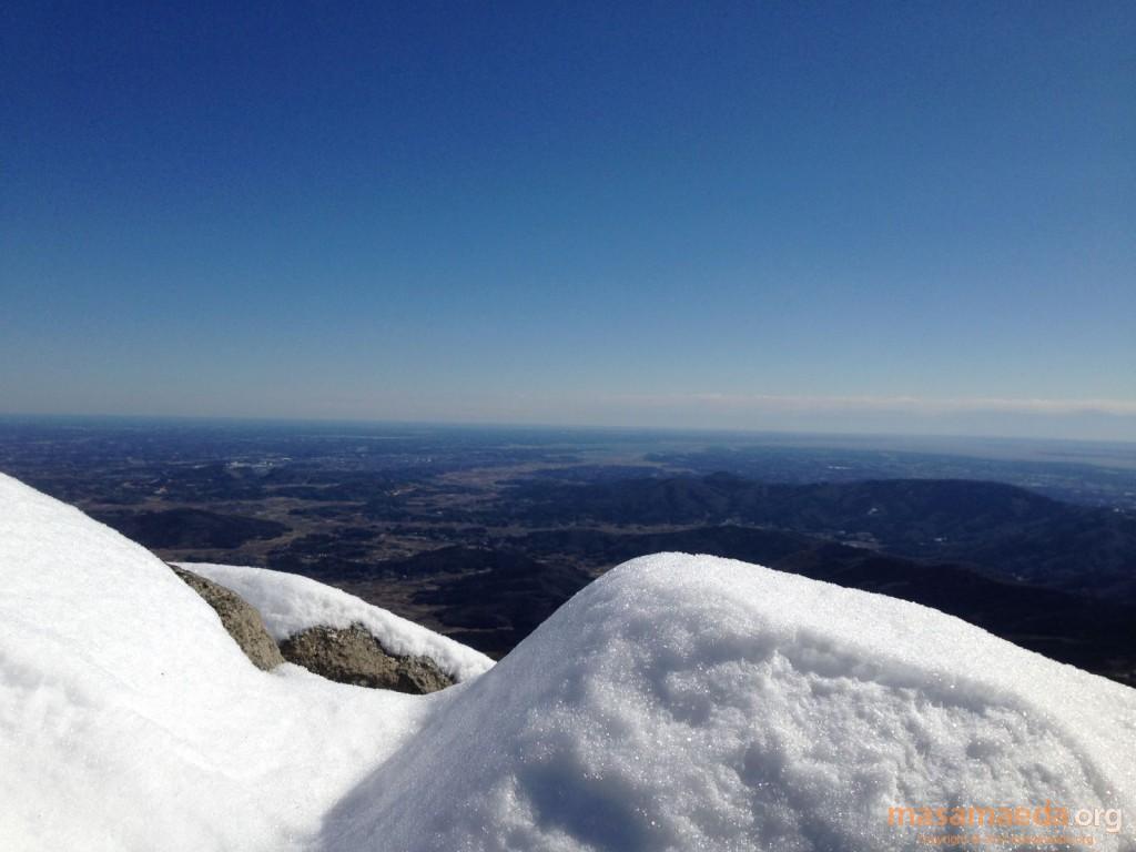 雪と地平線