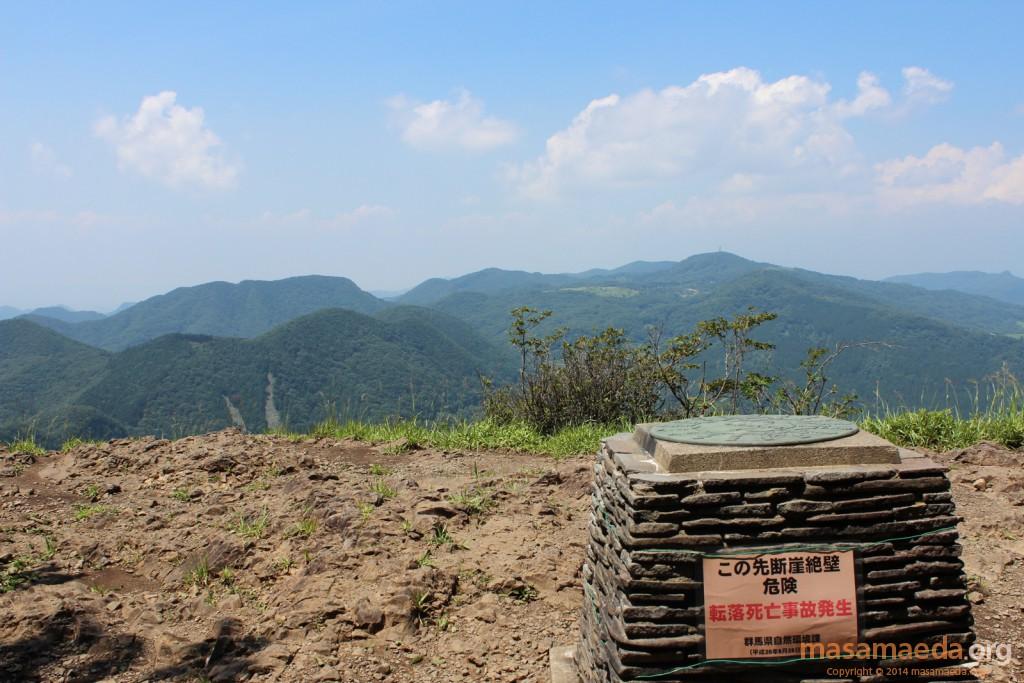 艫岩展望台の眺望