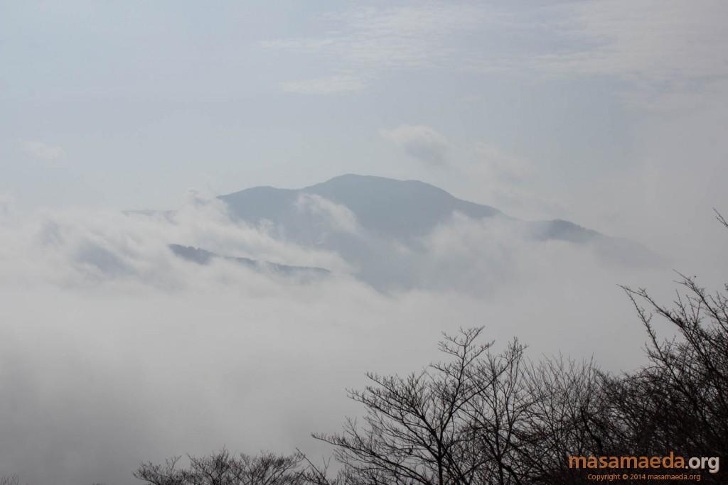 幽玄な雰囲気の箱根山
